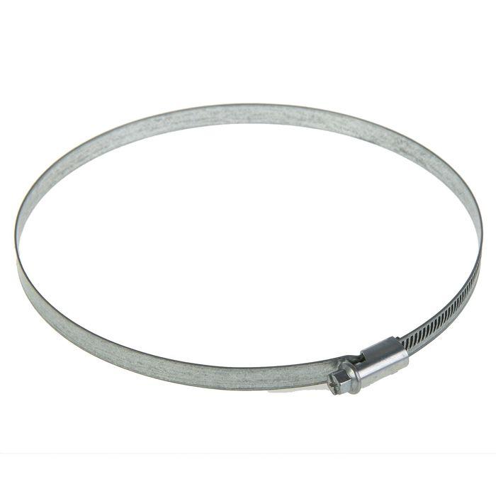 Хомут червячный NORMA, диаметр 140-160 мм, ширина ленты 9 мм, оцинкованный