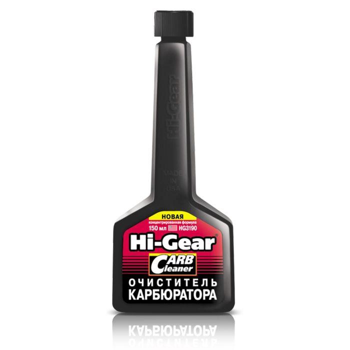 Очиститель карбюратора HI-GEAR концентрат на 40-60л 150мл