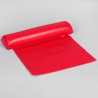 Валик для маникюра, моющийся, цвет красный