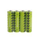 Батарейка солевая Defender, AA, R6-4S, спайка, 4 шт.