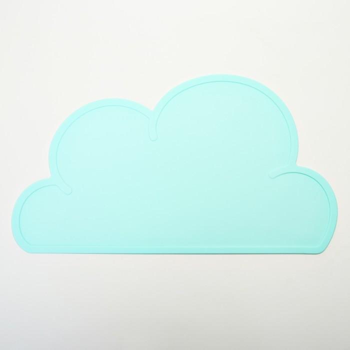 Силиконовый коврик подкладной, для кормления, антискользящий «Облачко», от 5 мес.