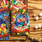 """Магнит новогодний деревянный """"Шестёрка №1"""" с голографией, 6×4 см, Символ года 2019"""
