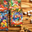 """Магнит новогодний деревянный """"Шестёрка №3"""" с голографией, 6×4 см, Символ года 2019"""