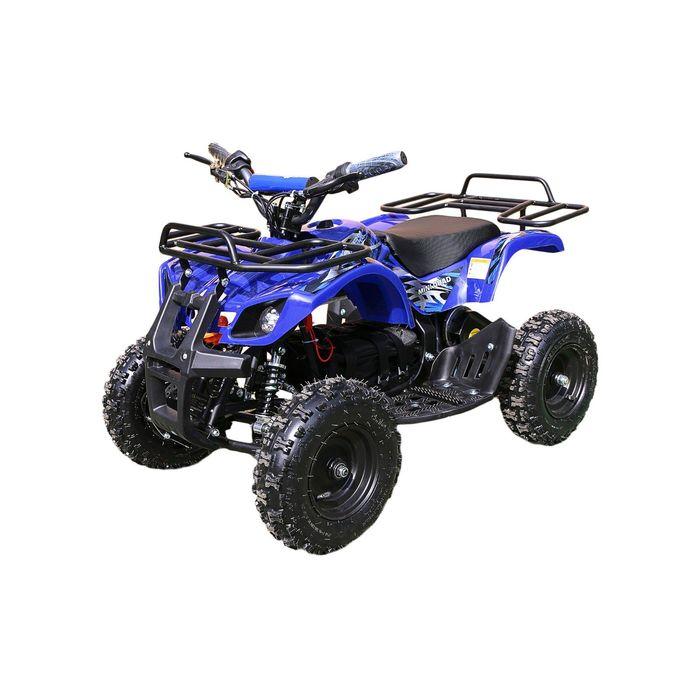 Детский электро квадроцикл MOTAX ATV Х-16 1000W, синий