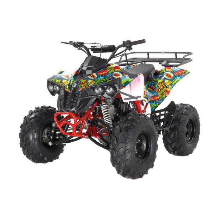 Квадроцикл бензиновый MOTAX ATV Raptor Super LUX 125 сс, бомбер
