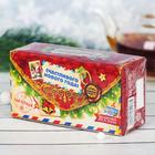 """Чай чёрный 20 пакетиков б/я """"Счастливого нового года"""", почтовая"""