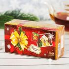 """Чай чёрный 20 пакетиков б/я """"Удачного нового года"""""""