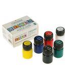 Краска акриловая, набор Shine, 6 цветов по 20 мл, Decola, глянцевые