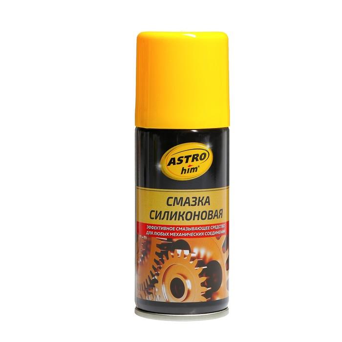 Смазка силиконовая Astrohim, 140 мл, аэрозоль, АС - 4611