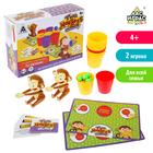 Настольная игра на меткость Two monkeys, игровые поля, шарики, карточки