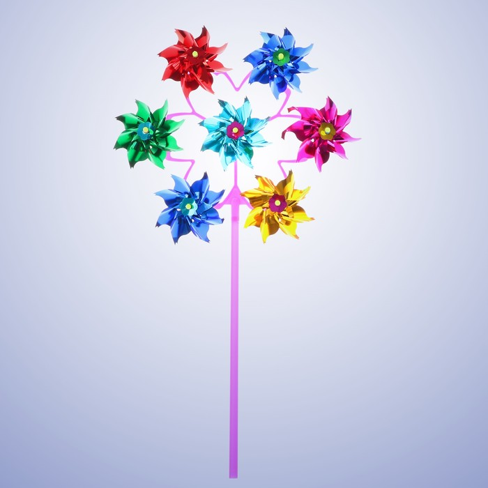 Ветерок фольга «Цветок», семь элементов