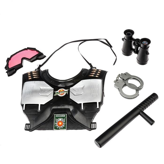 Набор полицейского «Омоновец», 5 предметов - фото 105576458