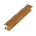 Профиль соединительный для цоколя, 180˚, H=100 мм, ламинированный, фактурный, цвет бук