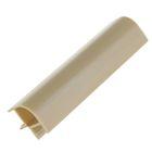 Профиль соединительный для цоколя, 90˚, H=100 мм, ламинированный, фактурный, цвет бук