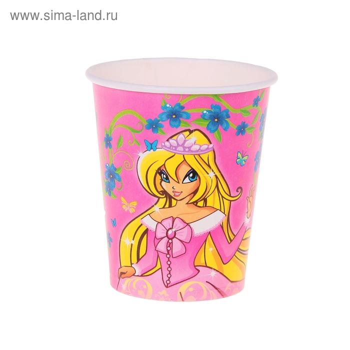 """Набор бумажных стаканов """"Самая красивая"""", 225 мл (6 шт.)"""