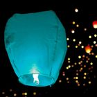 The lantern wishes, color: blue