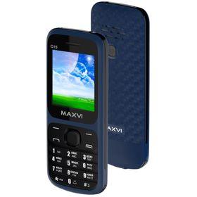 Сотовый телефон Maxvi C15 Marengo Black Ош