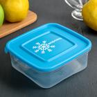 """Контейнер для замораживания продуктов """"Морозко"""" , квадратный, 0,7 л, цвет МИКС"""