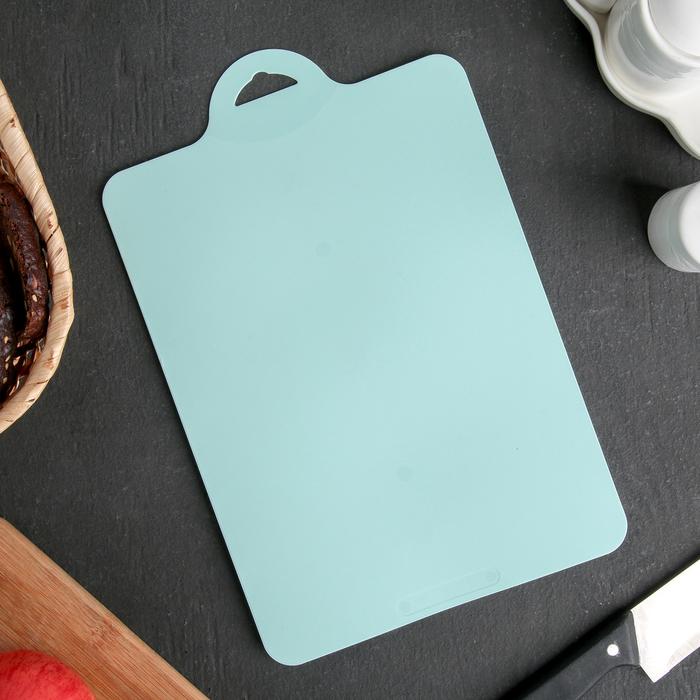 Разделочная доска, гибкая 29х19 см, цвет МИКС