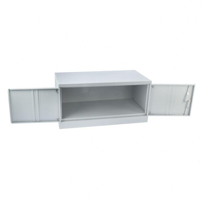 Шкаф металлический, антресоль  1 замок cam lock с тягами