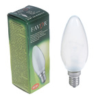 Лампа накаливания Favor ДС, Е14, 40 Вт, 230 В, матовая