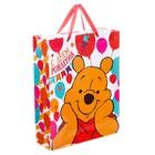 """Пакет ламинированный вертикальный """"Хорошего настроения!"""", Медвежонок Винни , 31 х 40 х 11 см"""