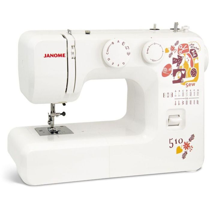 Швейная машина Janome Sew Dream 510, 35 Вт