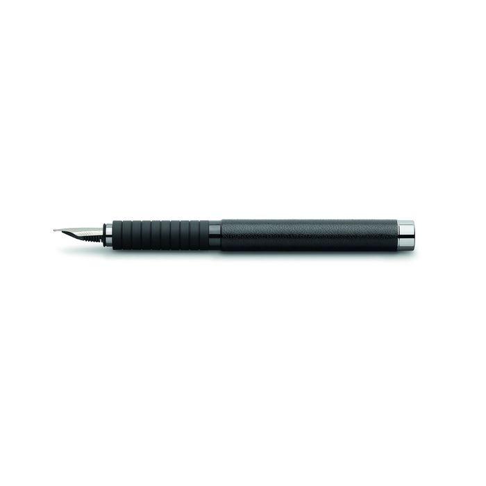 Ручка перьевая подарочная Faber-Castell Basic Black, M, натуральная кожа, под/к 148830