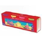 Пластилин 4 цвета Faber-Castell на водной основе, неоновые цвета
