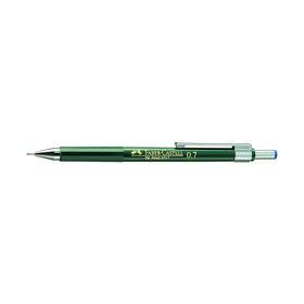 Карандаш механический профессиональный 0.7 мм Faber-Castell TK®-FINE с ластиком
