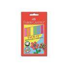 Клеящие подушечки Faber-Castell TACK-IT, цветные (6 цветов), 50 г, блистер