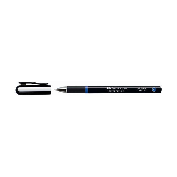 Ручка-роллер Faber-Castell Super True Gel 0.7мм водо- и светостойкие чернила синий 549151