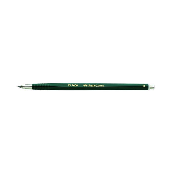 Карандаш цанговый 2.0 мм Faber-Castell TK® 9400 H зеленый 139411