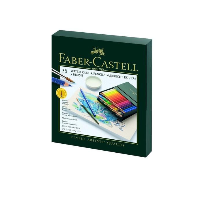 Карандаши художеств цветные акварельные Faber-Castell ALBRECHT DÜRER® 36цв кожз.к. 117538