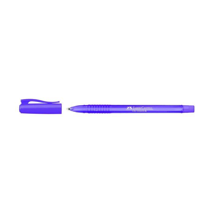 Ручка-роллер Faber-Castell СX5 1.0мм перманентные чернила фиолетовый 247037