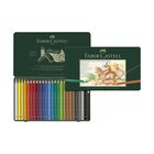Карандаши художественные акварельные 24 цвета Faber-Castell ALBRECHT DÜRER®, размер XL, металлическая коробка