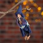 Baba Yaga clothing - rags, a broom, hangs, MIX