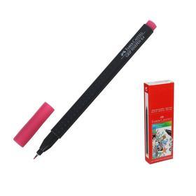 Ручка капиллярная Faber-Castell GRIP линер 0.4 мм розовый