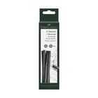 Уголь натуральный набор Faber-Castel PITT® Monochrome Charcoal 5шт 7-12мм, блист 129398