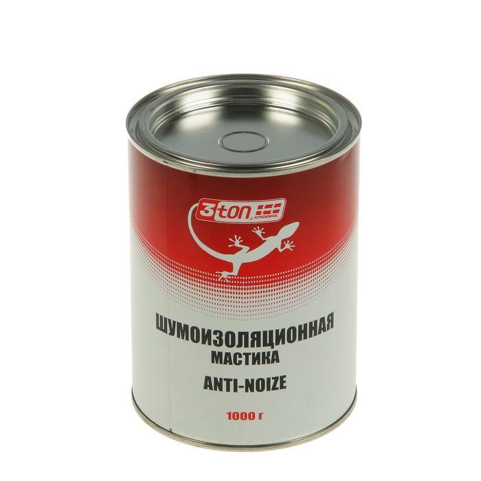 Шумоизоляционная мастика 3ton, 1000 г
