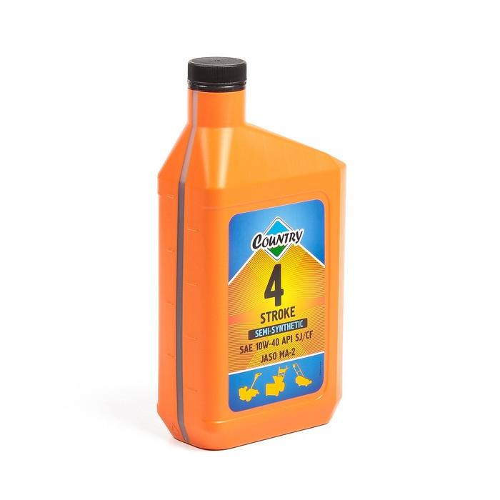 Масло четырехтактное Country полусинтетическое SAE 10w40 API SJ/CF, 1 л