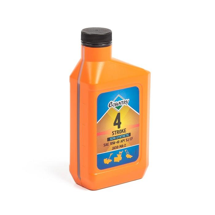 Масло четырехтактное Country полусинтетическое SAE 10w40 SJ/CF, 0,5 л