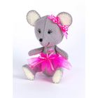 """Набор для изготовления игрушки из фетра """"Мышка"""", 11,5 см"""