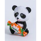 """Набор для изготовления игрушки из фетра """"Панда"""", 11,5 см"""