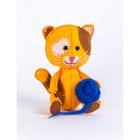 """Набор для изготовления игрушки из фетра """"Котёнок Рыжик"""", 11,5 см"""