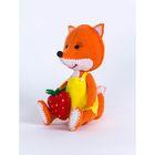 """Набор для изготовления игрушки из фетра """"Лисичка"""" 11,5 см"""