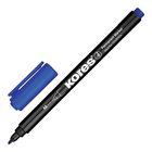 Маркер перманентный 1.0 мм KORES синий