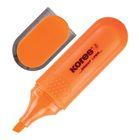 Маркер-текстовыделитель 5.0 KORES оранжевый '36104