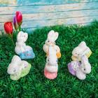 """Сувенир """"Пасхальные кролики"""" (набор 6 шт)"""