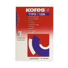 Бумага копировальная KORES 1200 синяя пачка 20 листов '7529079
